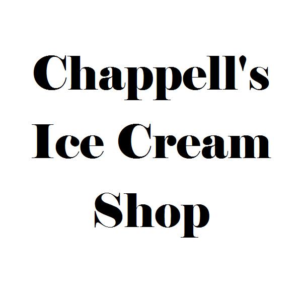 Chappell's Ice Cream Shop Logo