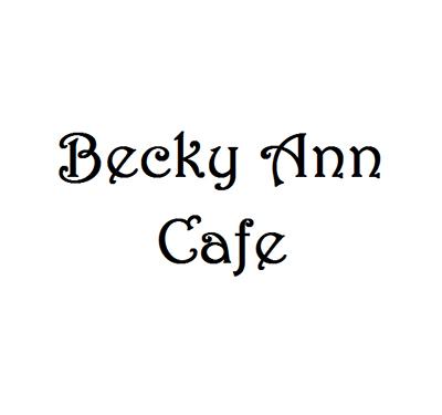 Becky Ann Cafe Logo