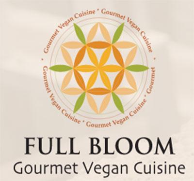 Full Bloom Gourmet Vegan Cuisine Logo