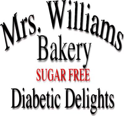 Mrs.Williams Bakery Diabetic Delights Logo