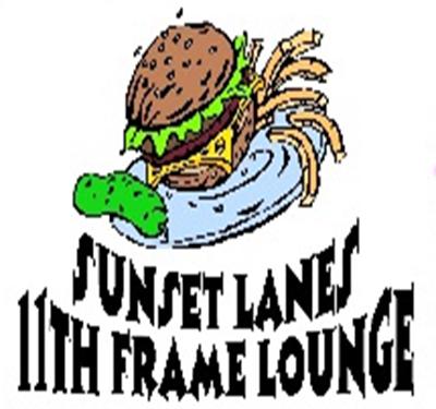Sunset Lanes 11th Frame Lounge Logo