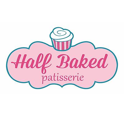 Half Baked Patisserie Logo