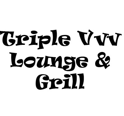 Triple Vvv Lounge & Grill Logo