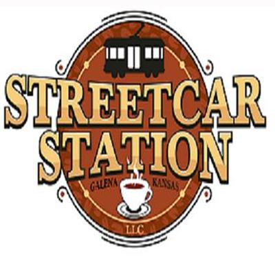 Streetcar Station Coffee Shop Logo