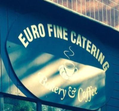 Euro Fine Catering Bakery & Coffee Logo