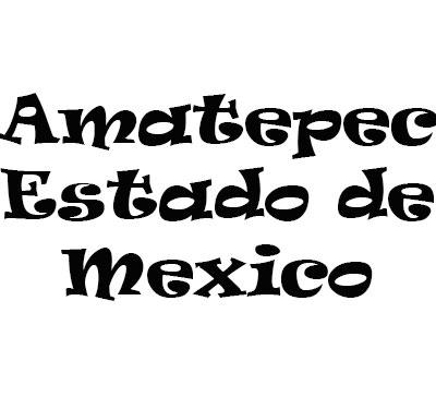 Amatepec Estado de Mexico Logo