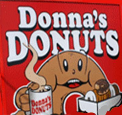 Donna's Donuts Logo