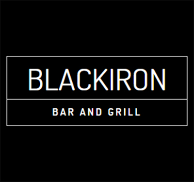Blackiron Bar and Grill Logo