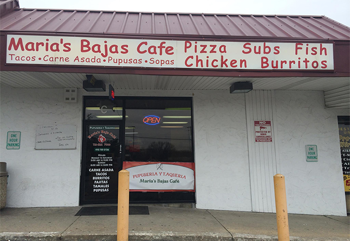 Maria's Bajas Cafe in Elkridge, MD at Restaurant.com