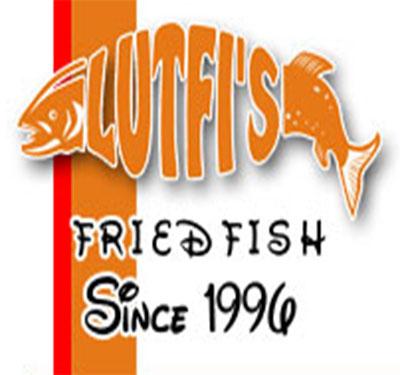 Lutfi's Fried Fish Logo