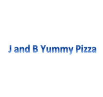 J and B Yummy Pizza Logo