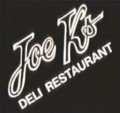 Joe K's Deli Restaurant Logo