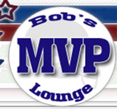 Bob's MVP Lounge Logo