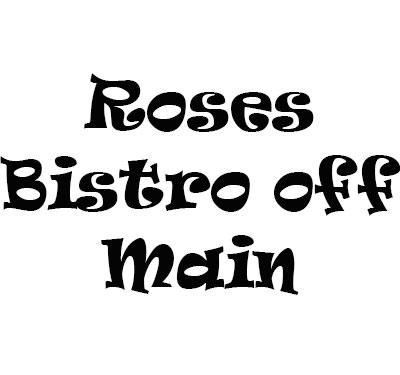 Roses Bistro off Main Logo