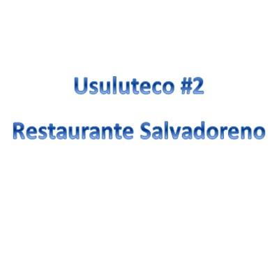 Usuluteco #2 Restaurante Salvadoreno Logo