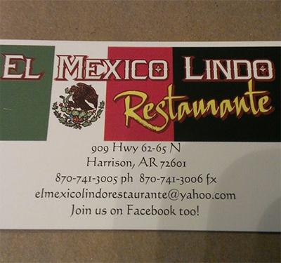 El Mexico Lindo Restaurant Logo