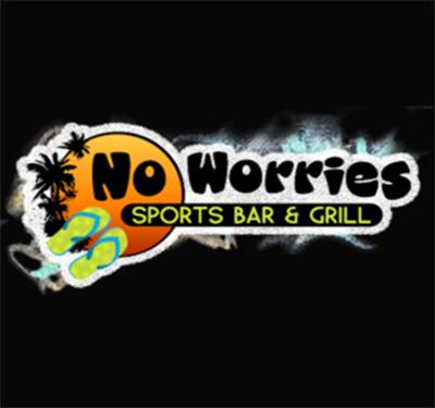 No Worries Sports Bar & Grill Logo