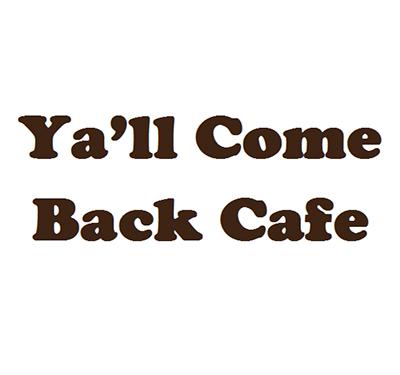 Ya'll Come Back Cafe Logo