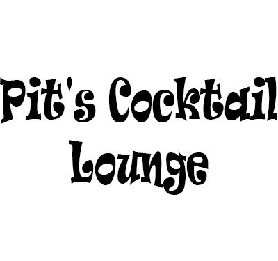 Pit's Cocktail Lounge Logo