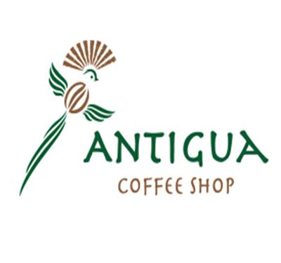 Antigua Coffee Shop Logo