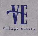 THE VILLAGE EATERY Logo