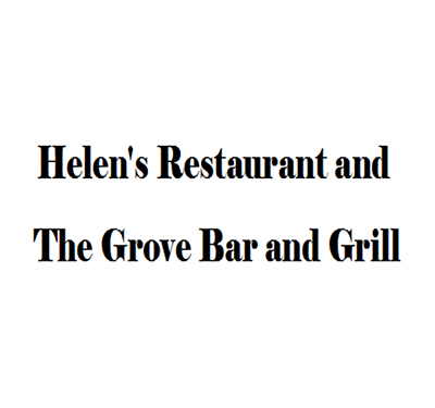 Helen's Restaurant and The Grove Bar and Grill Logo