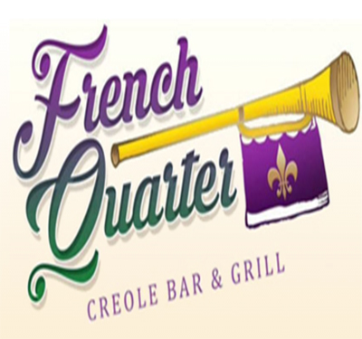 The French Quarter Creole Bar and Grill Logo