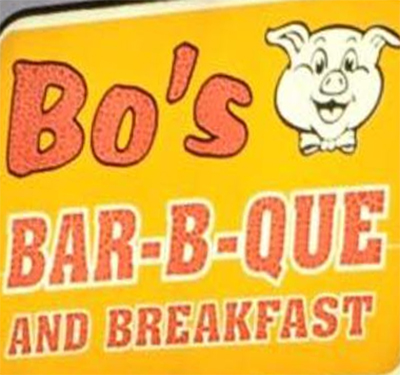 Bo's Breakfast and Barbeque Logo