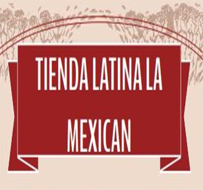 Tienda Latina La Mexican Logo