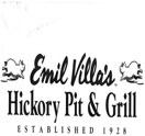 Emil Villa's Hickory Pit & Grill Logo