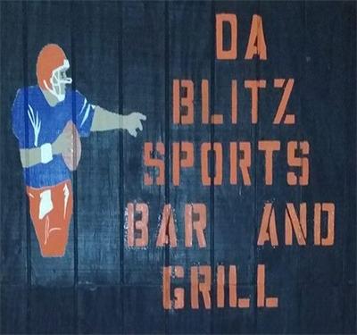 DaBlitz Sports Bar and Grill Logo