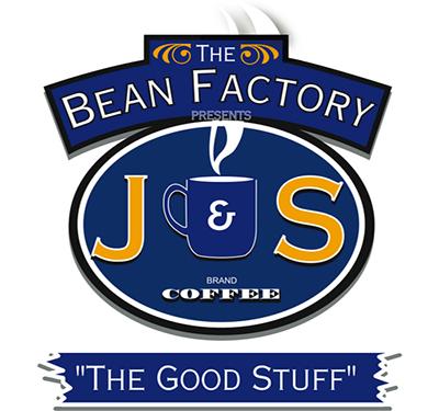 J&S Bean Factory Logo