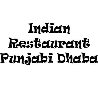 Indian Restaurant Punjabi Dhaba Logo