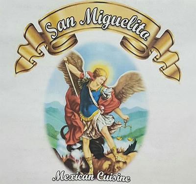 San Miguelia Mexican Cuisine Logo