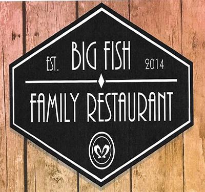 Big Fish Family Restaurant Logo