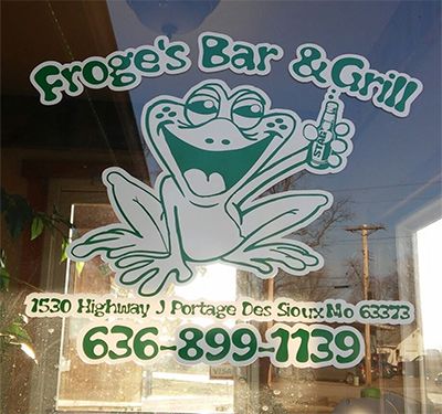 Froge's Bar & Grill Logo