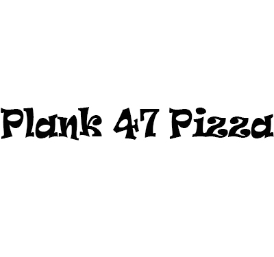 Plank 47 Pizza Logo