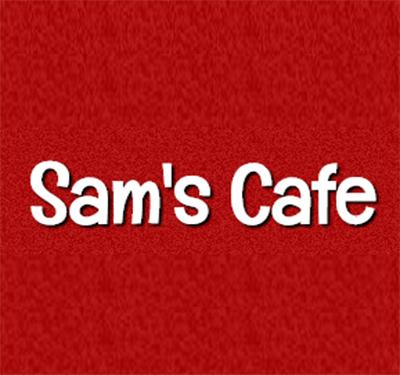 Sam's Cafe Logo