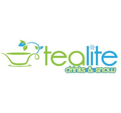 Tealite Drinks & Snow Logo