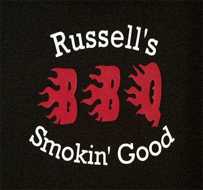Russell's Smokin Good BBQ Logo