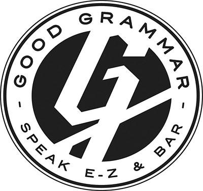 Good Grammar Speak E-Z & Bar - Temporarily Closed Logo