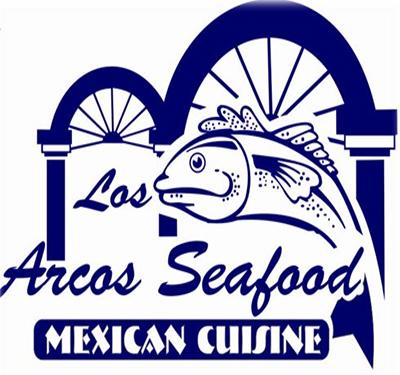 Los Arcos Seafood Logo
