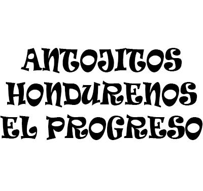 Antojitos Hondurenos El Porgreso Logo