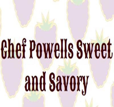 Chef Powells Sweet and Savory Logo