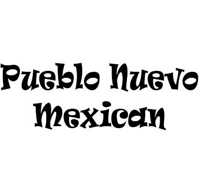 Pueblo Nuevo Mexican Logo