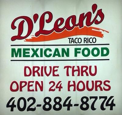 D Leons Mexican Food Logo
