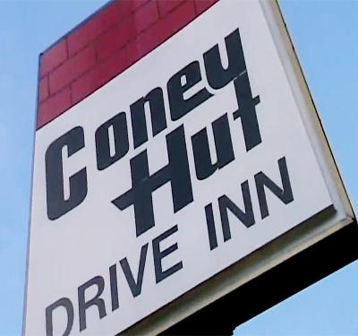 Coney Hut Drive Inn Logo