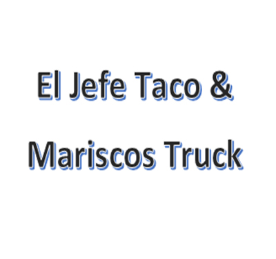 El Jefe Taco & Mariscos Truck Logo