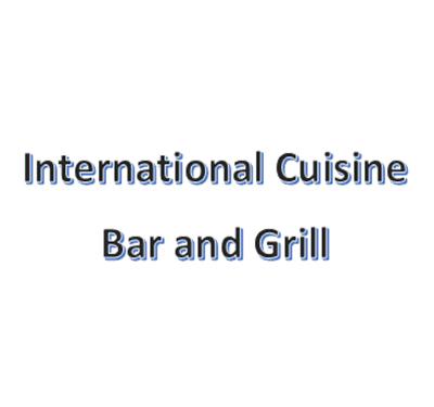 International Cuisine Bar and Grill Logo