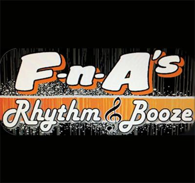 F-n-A's Rhythm & Booze Logo